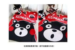 🚚 熊本熊刷毛毯