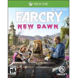 預訂 XBOX ONE XB1 X1 Far Cry:New Dawn 極地戰嚎:破曉 (行貨中英文版) 發售日:2019年2月22日