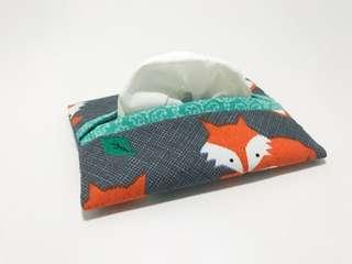 🚚 *Opening sales discount* Pocket tissue pouch : Foxy (Animal series)