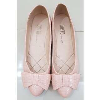 Dusto bow pump shoes