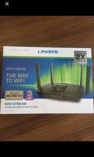 Linksys EA8100 Max-Stream™ AC2600 MU-MIMO Gigabit WiFi Router