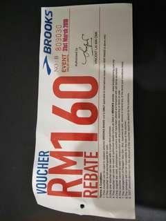 Brooks offer voucher RM160!!!