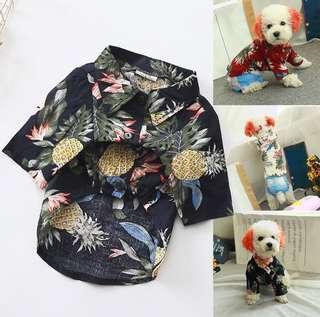 Dog/Cat Pet Hawaiian Shirt