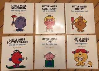 Little Miss book set