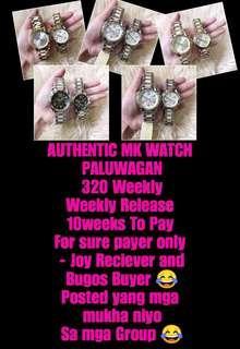 Mk Authentic watch paluwagan 😍
