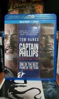 Pre-loved Original Tom Hanks Captain Phillip Bluray Blu Ray