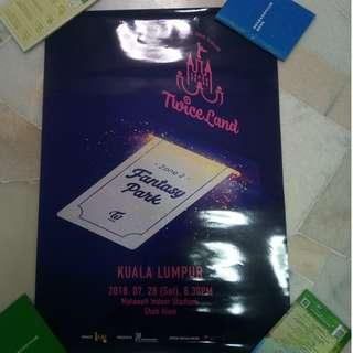 [WTS] Twice Twiceland KL Poster