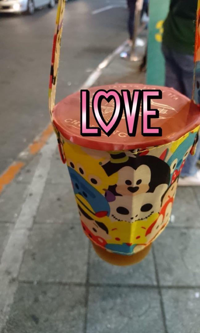 珍珠奶茶杯套