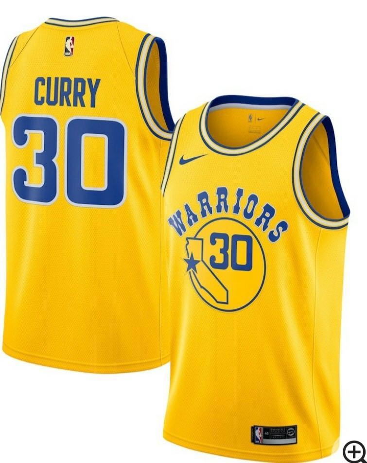全新Nike NBA Jersey Golden State Warriors Curry Size S Classic ... cbb1c645a