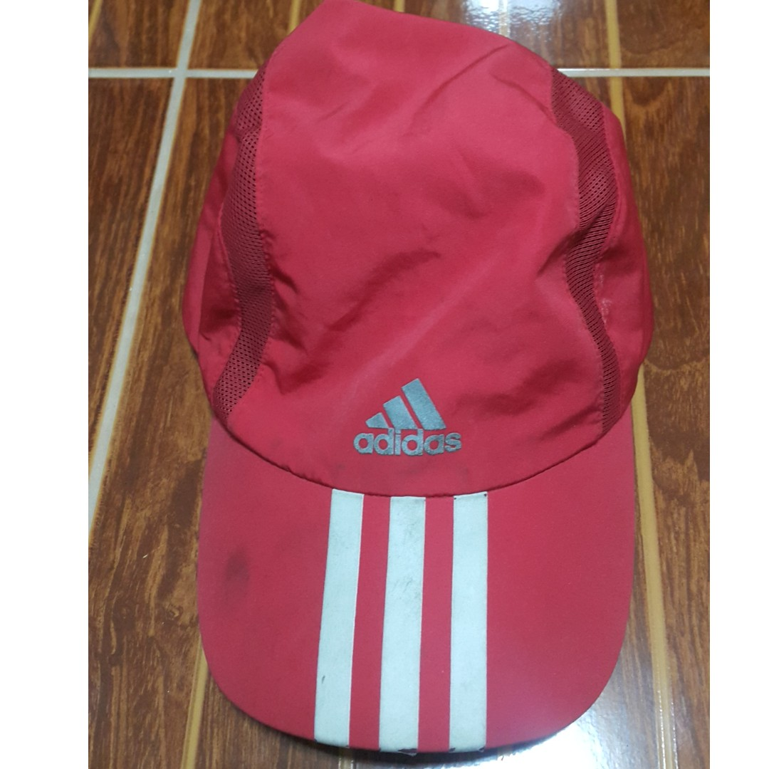 buy online f4a64 45384 Adidas climacool cap red on Carousell