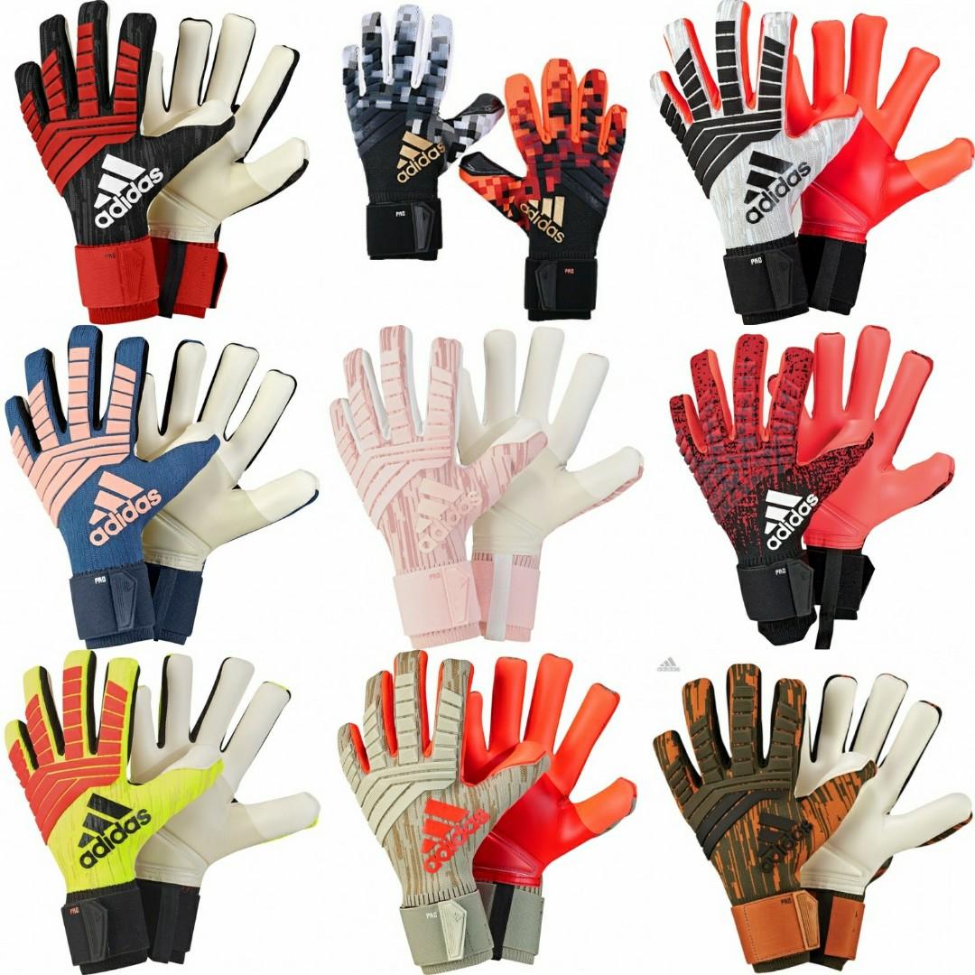 5f1e4c5a9 Adidas Predator Pro Goalkeeper Gloves, Sports, Sports & Games ...
