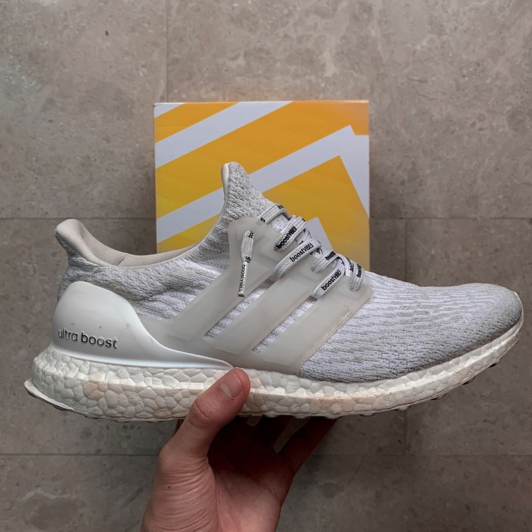 b0ddf1935 Adidas Ultra Boost 3.0 Triple White