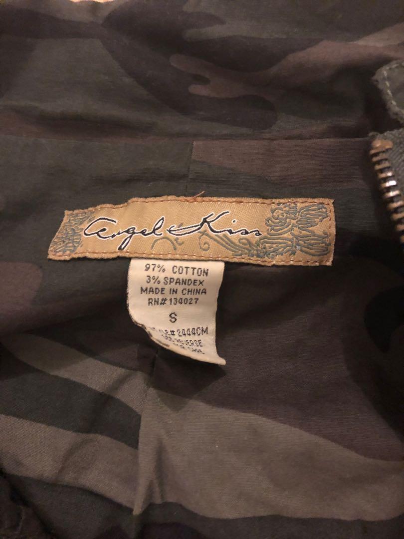 Army Camouflage pattern jacket size Small