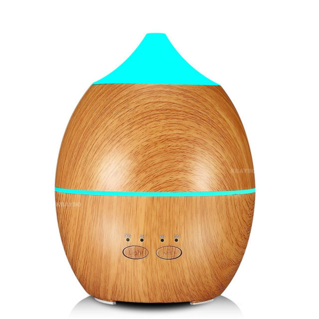 Aroma Diffuser Essential Oil with LED Light 300ml (Lamina)