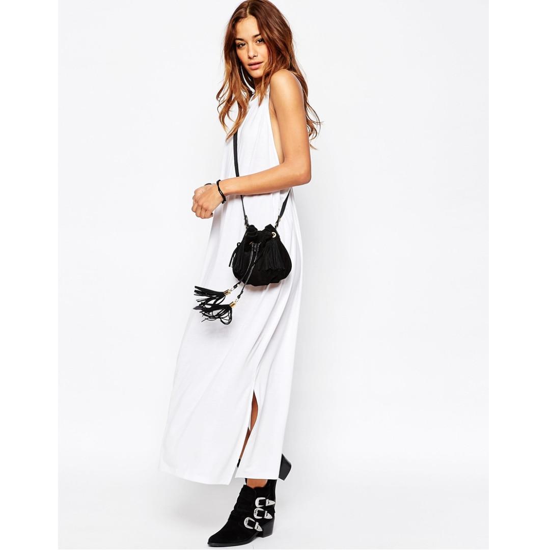 1e0bca5228 ASOS Drop Armhole Casual Maxi Dress, Women's Fashion, Clothes, Dresses &  Skirts on Carousell