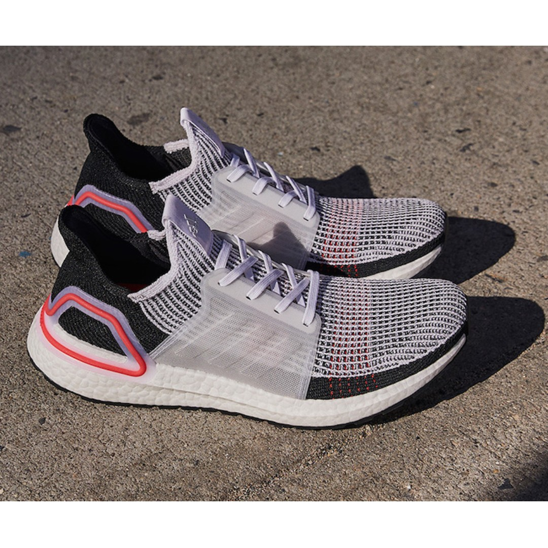 738fa6ddfaf36 Authentic Adidas UltraBoost 2019 White   Pink   Black