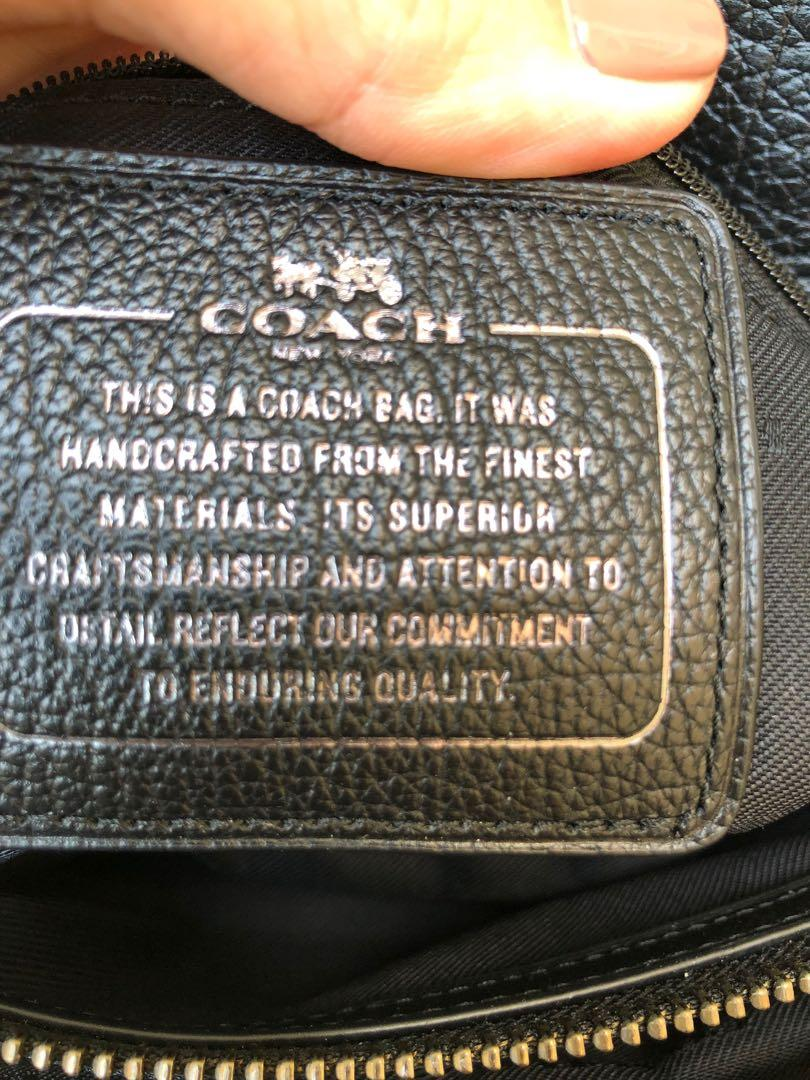 Authentic Coach black crossbody for sale!