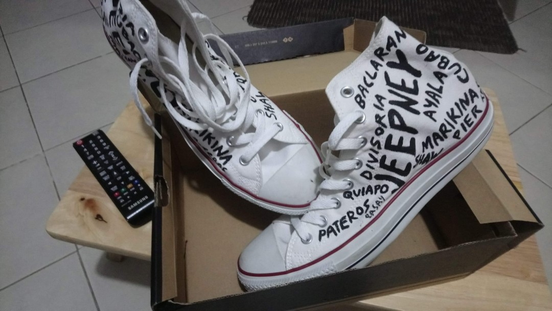 84da7f41c486 Authentic! Converse all star custom made