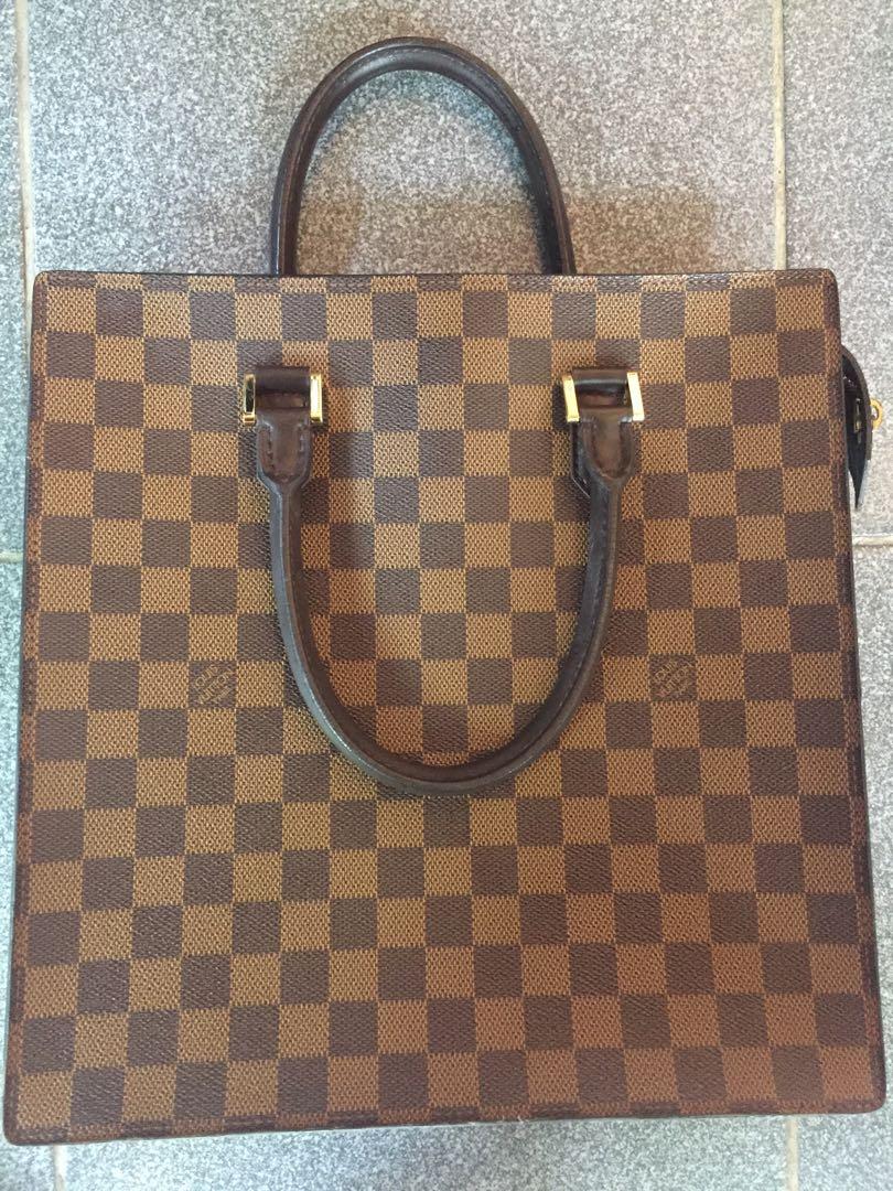 8a09a93765cb Authentic Louis Vuitton Damier Ebene Venice Hand Bag