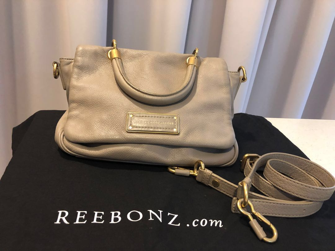 220a2ea8e07b Authentic Marc by Marc Jacobs too hot handle flap bag