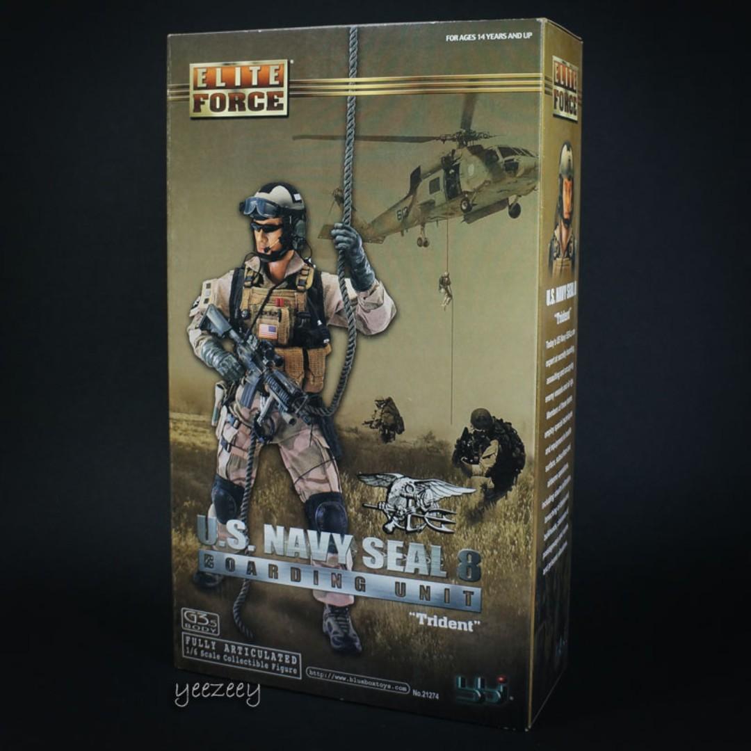BBi 1/6 US Navy Seal Team 8 Boarding Unit Trident Brad Pitt, Toys