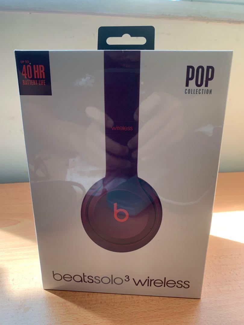 Beatssolo3 Wireless (Pop Collection - Magenta)