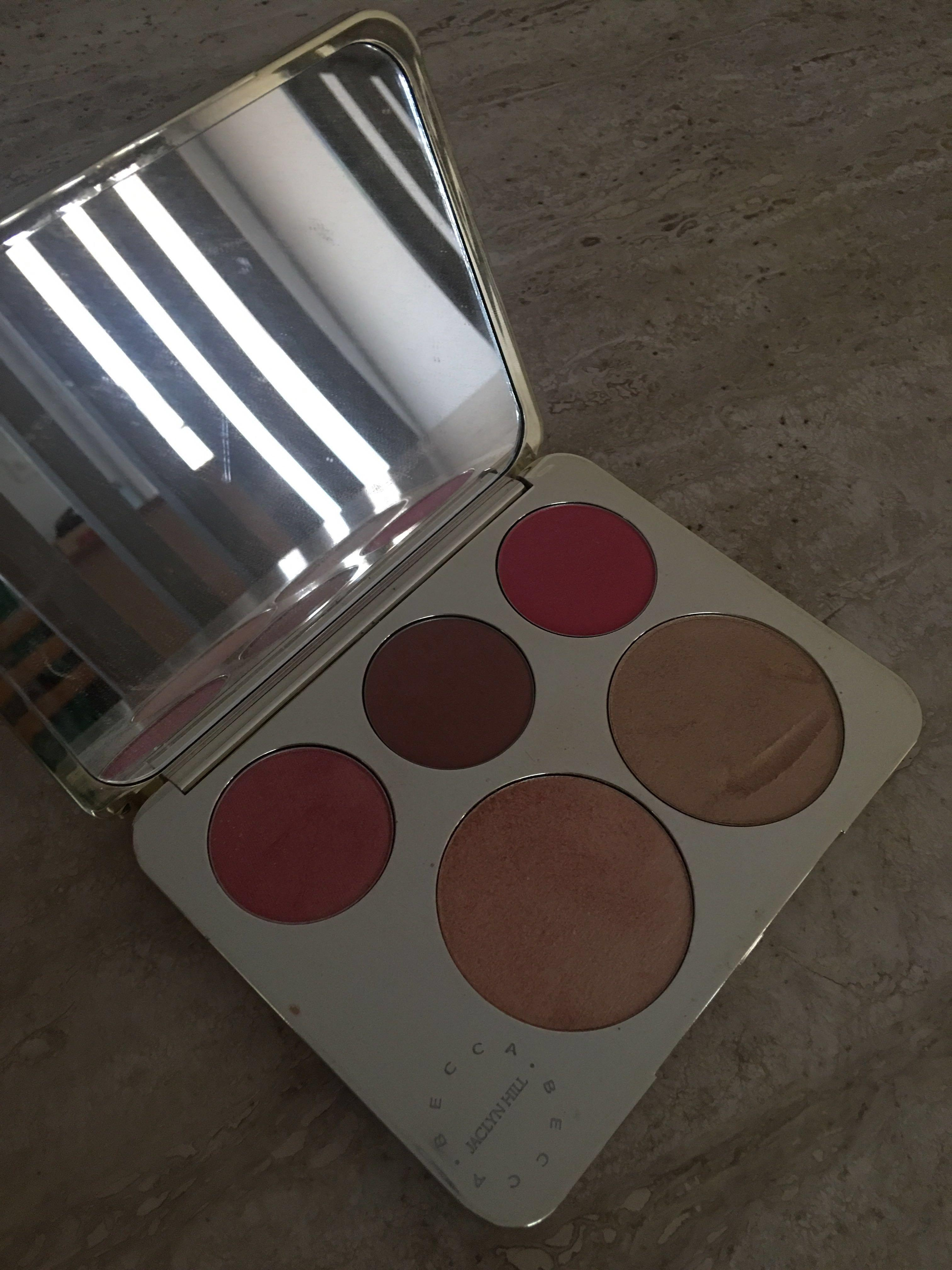BECCA x Jaclyn Hill Champagne Collection Highlighting/Blush Palette