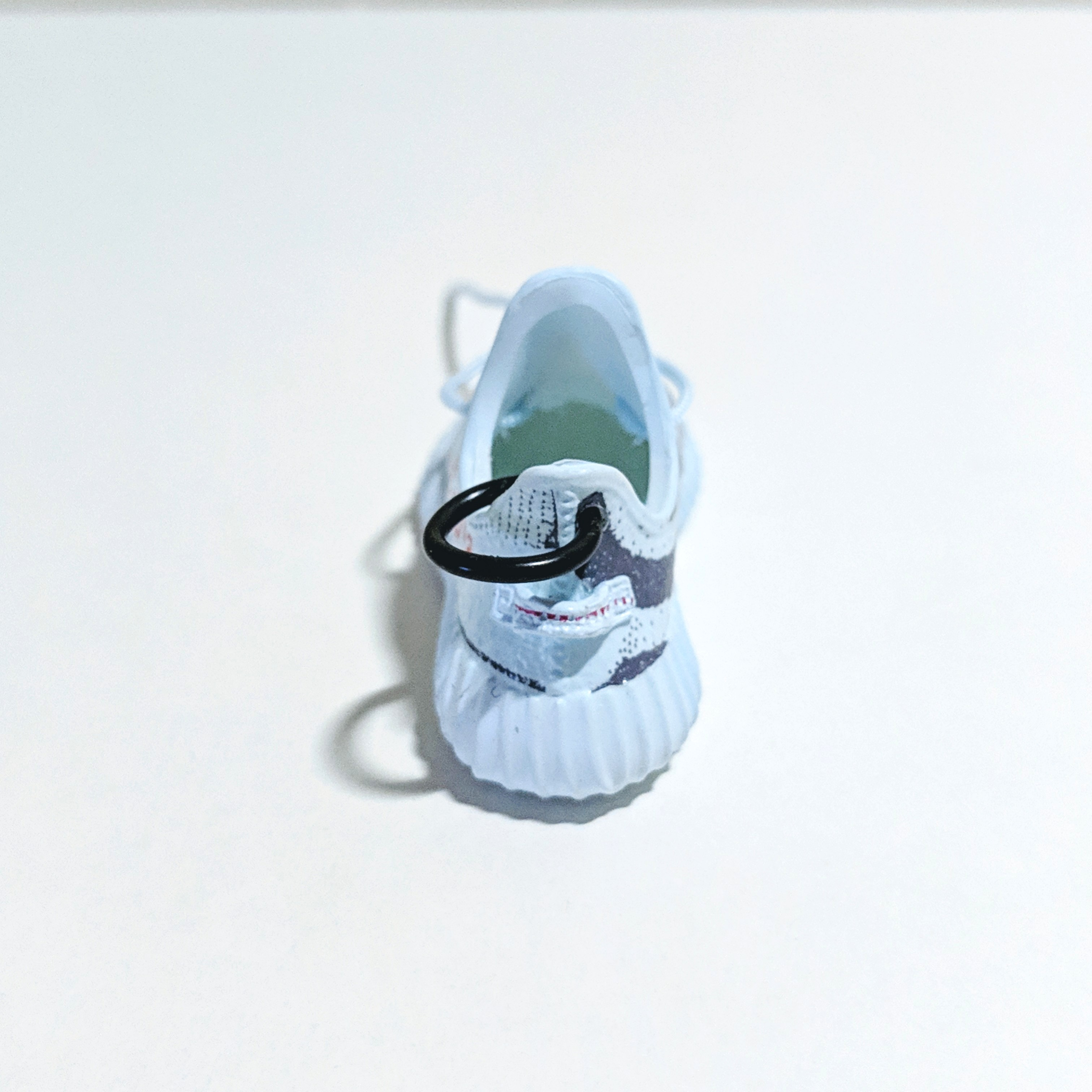 bd0ef19ef16ae Blue Tint Yeezy Boost Adidas shoe keychain set + Box + Paperbag ...