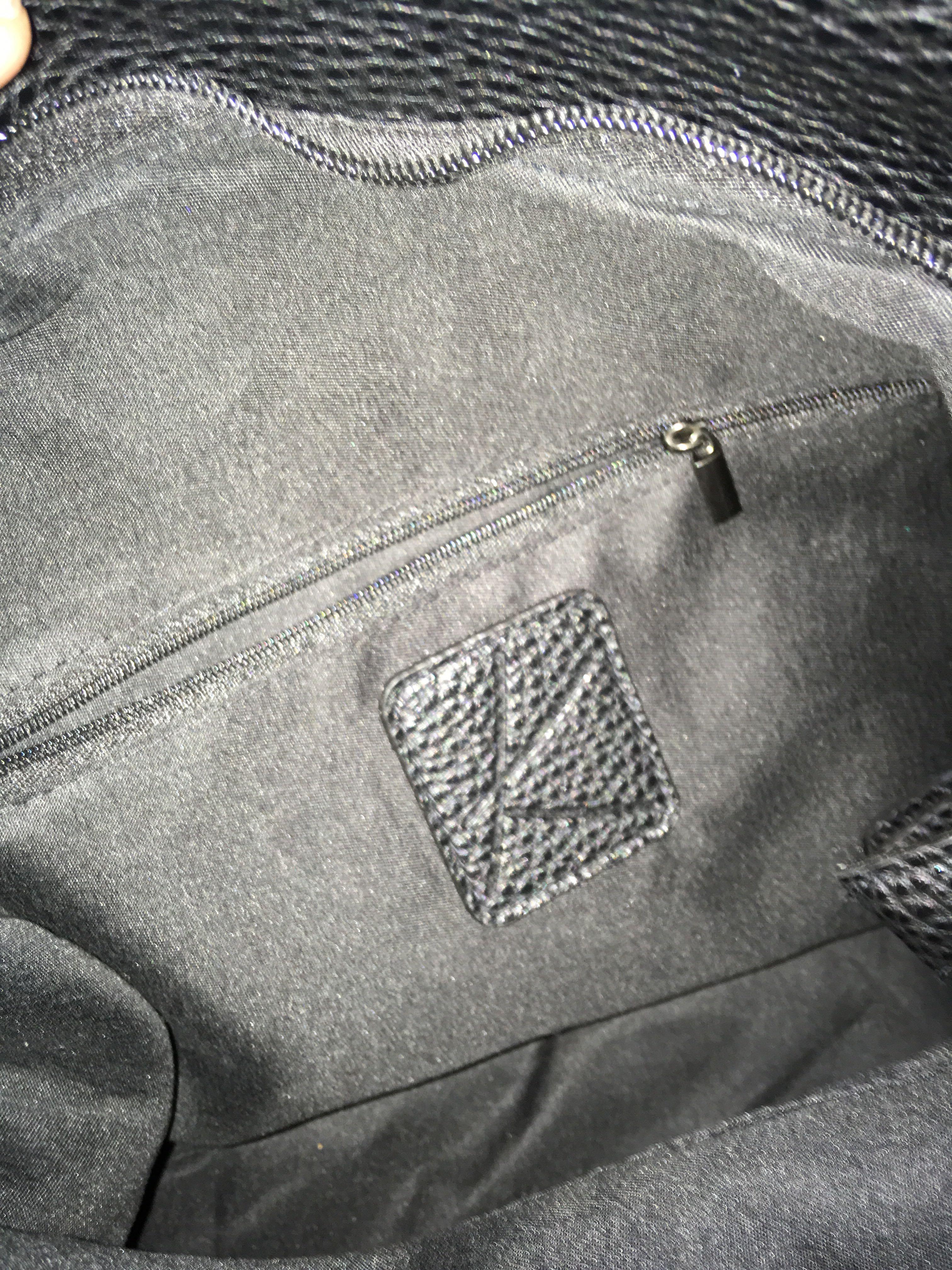 BNWOT Extra large black tote bag