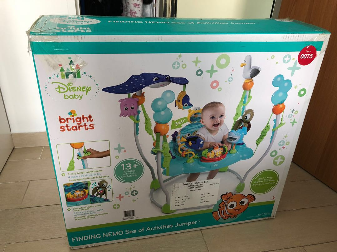 6c29cbf6c Bright starts Finding Nemo jumperoo