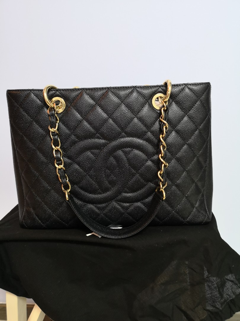 0c787376dbbd Chanel grand shopping tote