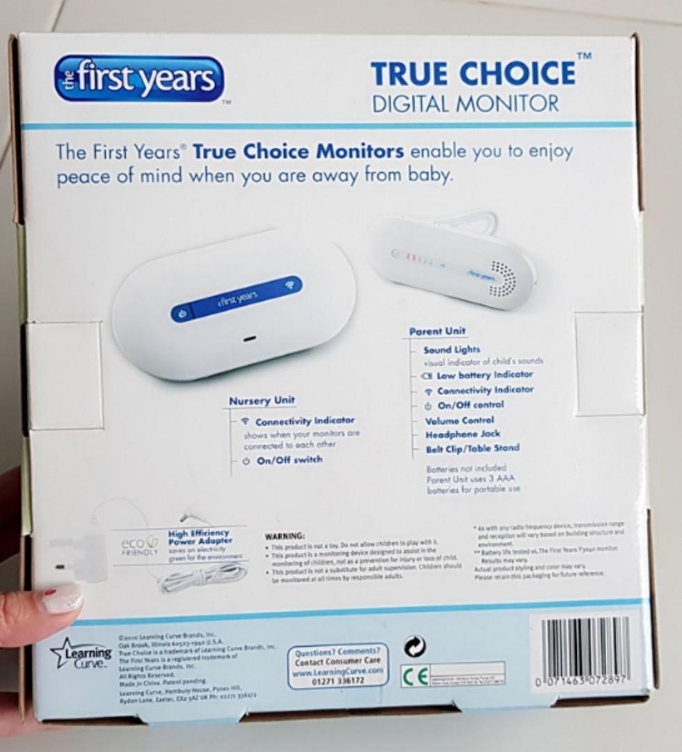 First Years True Choice Digital Monitor