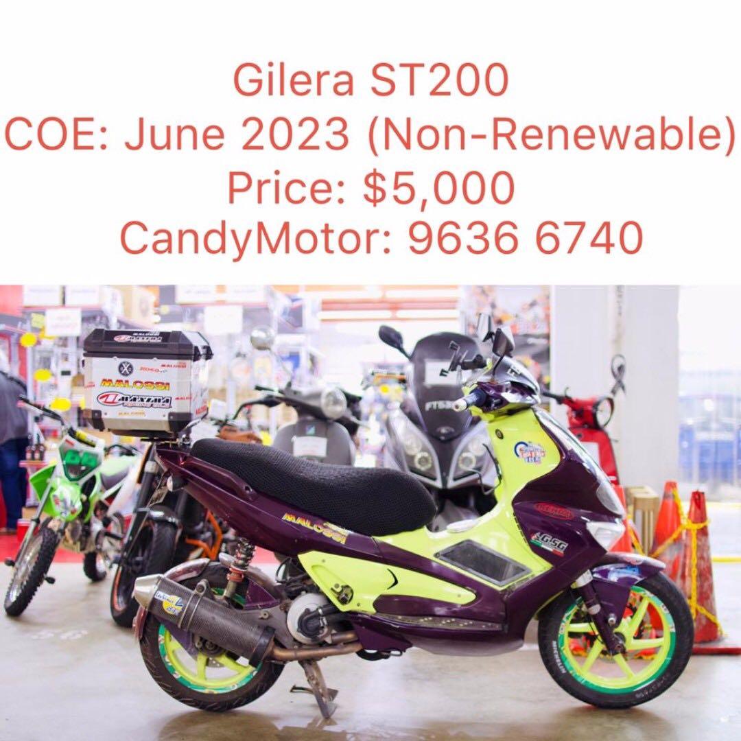 Gilera ST200 Runner