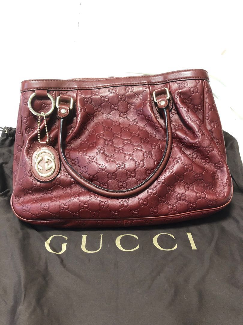 2013a95ad Gucci Handbag (AUTHENTIC), Women's Fashion, Bags & Wallets, Handbags ...