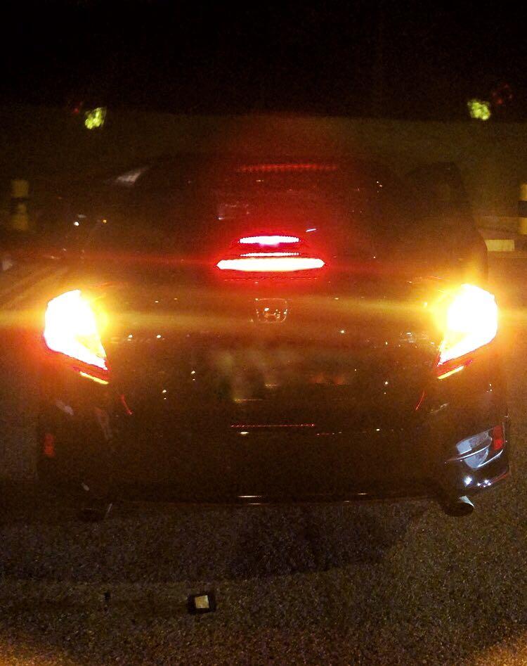 High intensity Signal Light LED bulb T20 for Honda civic FC
