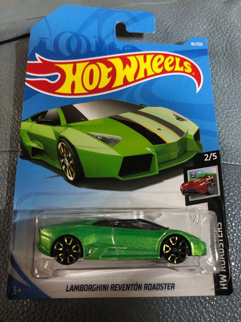 Hotwheels Lamborghini Reventon Roadster Toys Games Diecast Toy