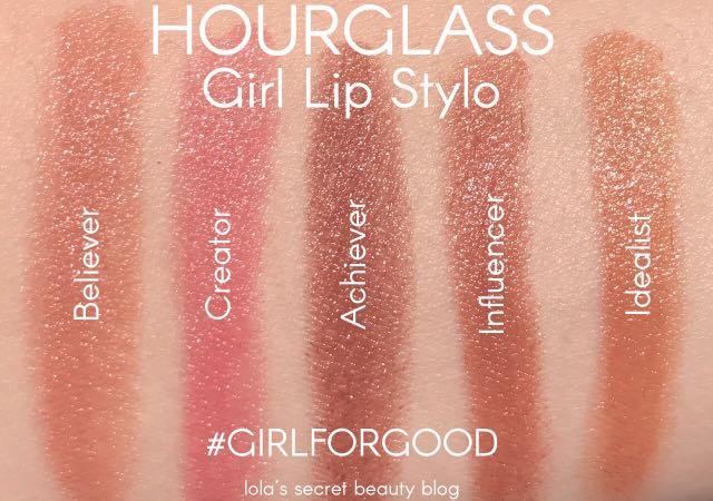 Hourglass GIRL LIP STYLO - Girl Influence 1.5 g (full size 2.5g)