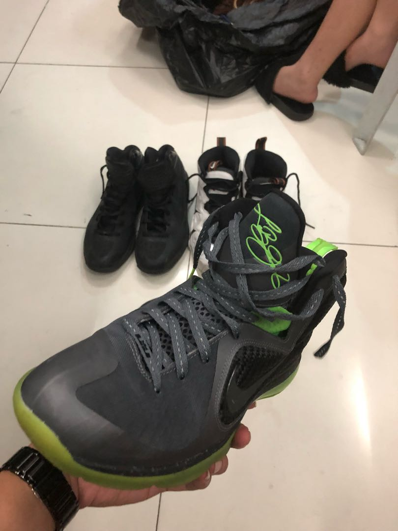 "finest selection 9fd71 daf37 HYPERDUNK 2011 TRIPLE BLACKLEBRON 9 ""DUNKMAN"", Mens Fashion, Footwear,  Sneakers on Carousell"