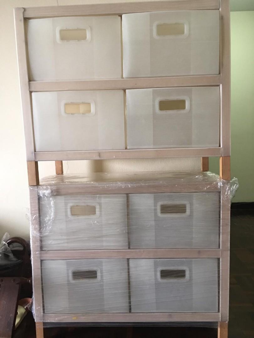 Ikea Corrugated Plastic Board Drawers, Plastic Drawer Cabinet Ikea