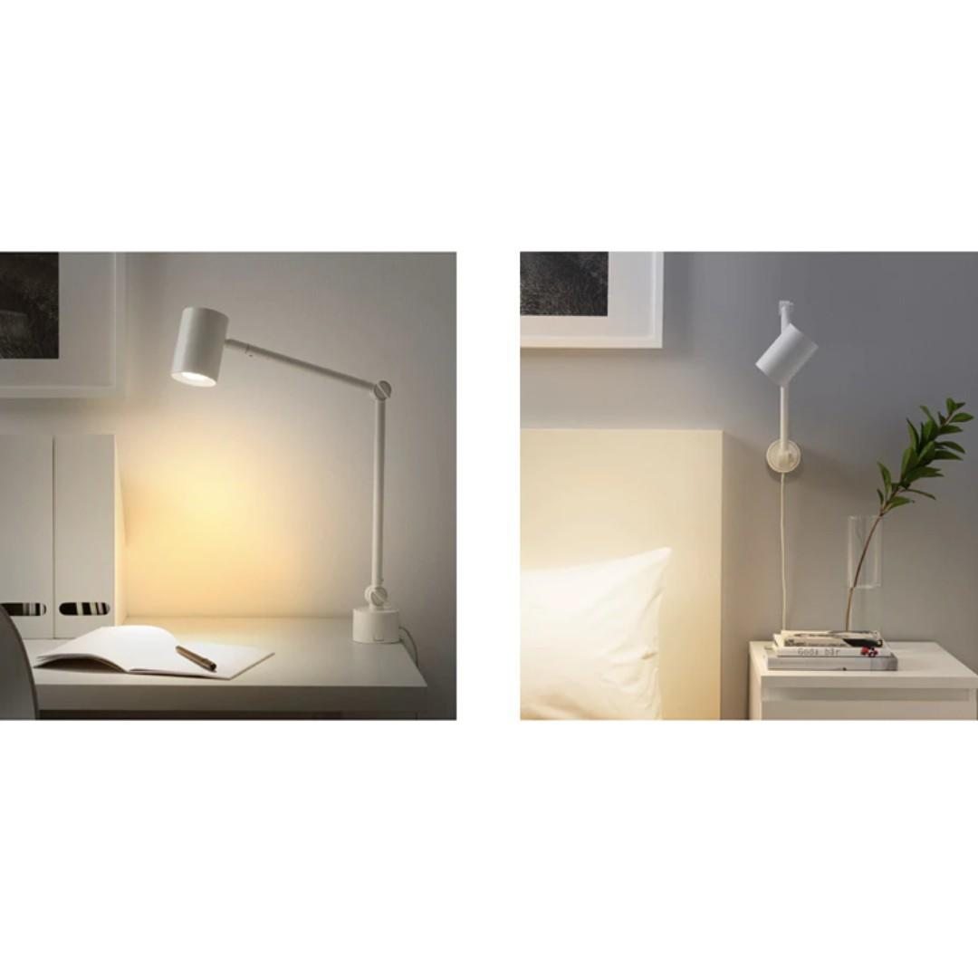 new products 8b1c6 2287c IKEA Nymane Work / Wall Lamp (NEW), Furniture, Home Decor ...