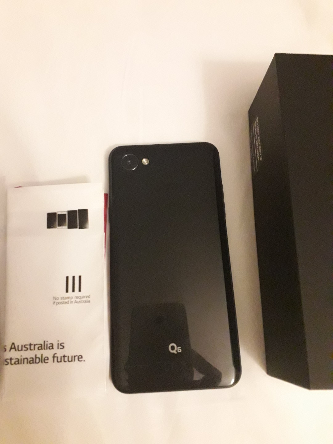 I'm selling a very good condition  6 months old LG Q6. It comes with charger and original box. It also has always been wi5h cover.