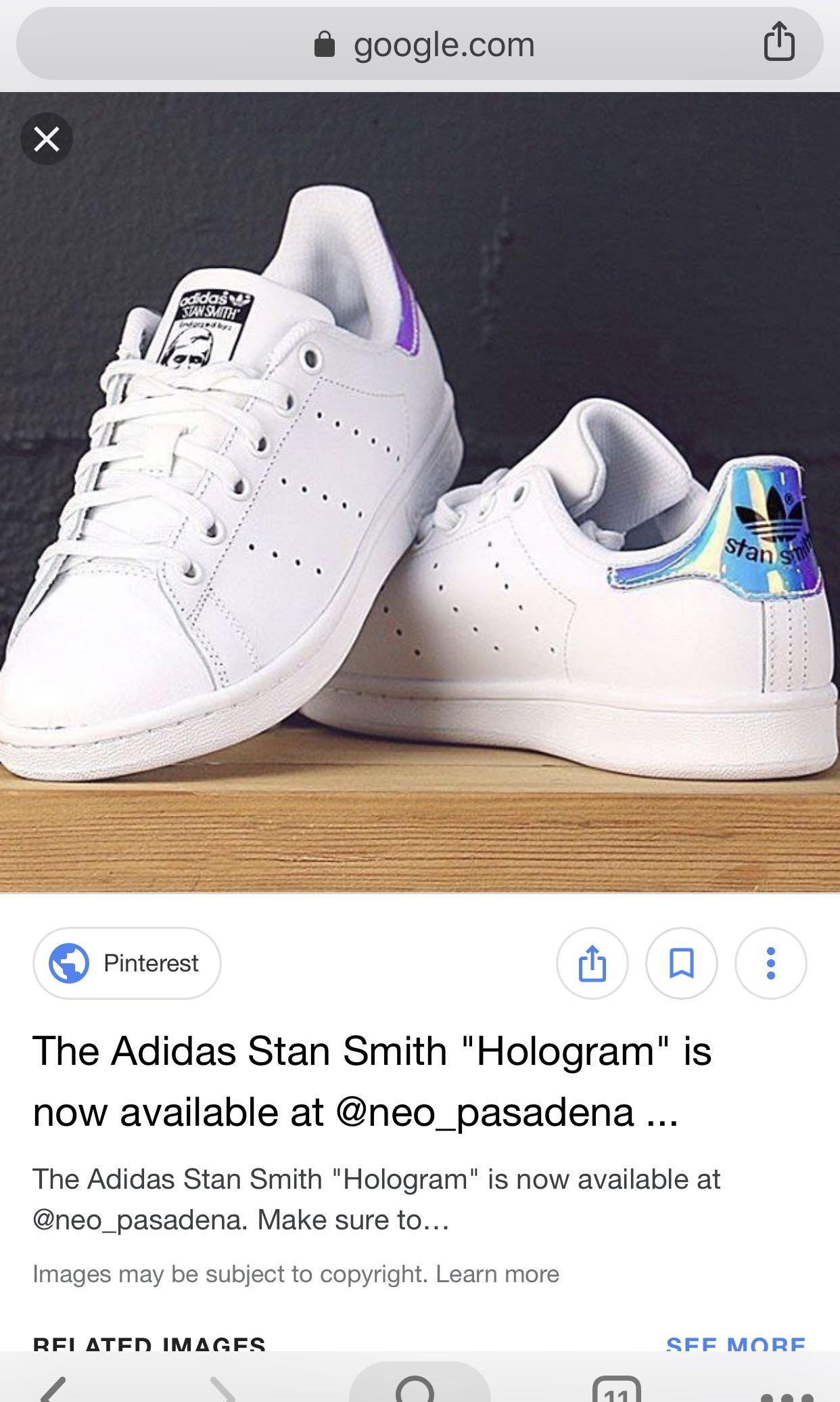 online retailer 2c49b ad94a INSTOCK ADIDAS STAN SMITHS HOLOGRAPHIC HOLO HOLOGRAM, Women s Fashion,  Shoes, Sneakers on Carousell