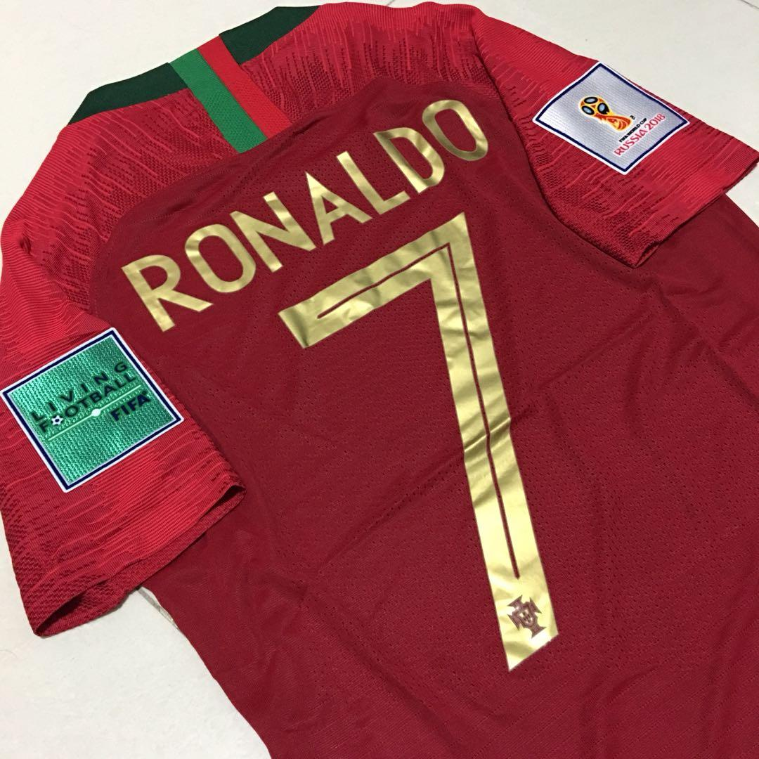 best service 8df46 08fe7 INSTOCK Player Version S Ronaldo Portugal World Cup Home ...