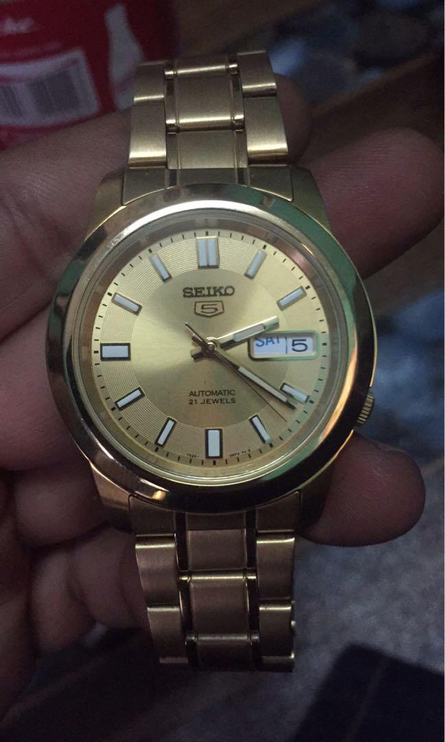 Jam tangan seiko 5 new model 54f8940cb1