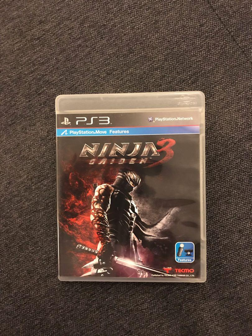 Kaset Ps 3 Ninja Gaiden 3 Video Gaming Video Games On Carousell