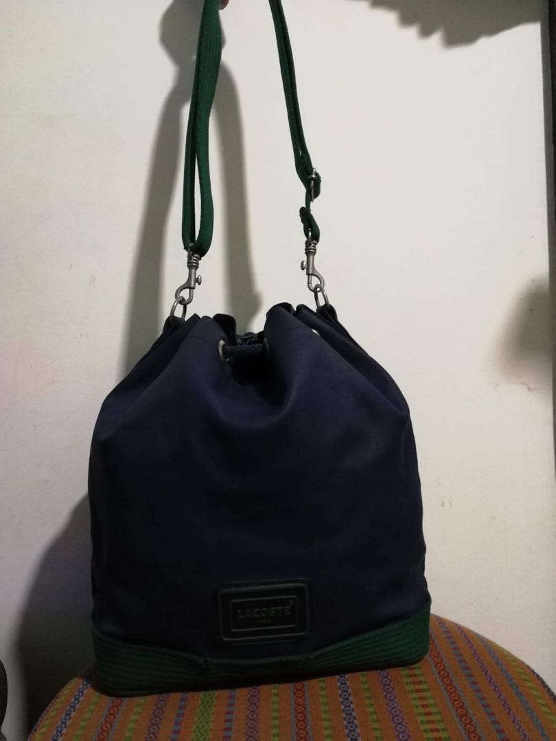 465aba6a79 Lacoste Sling Bag, Luxury, Bags & Wallets on Carousell