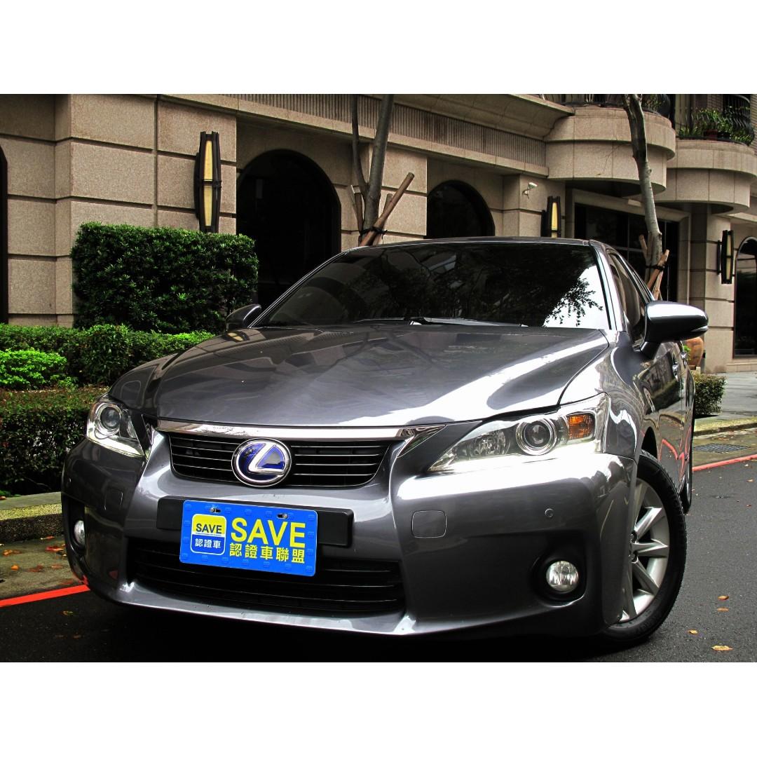 LEXUS凌志 CT200h 一手車 全車原鈑件附認證書