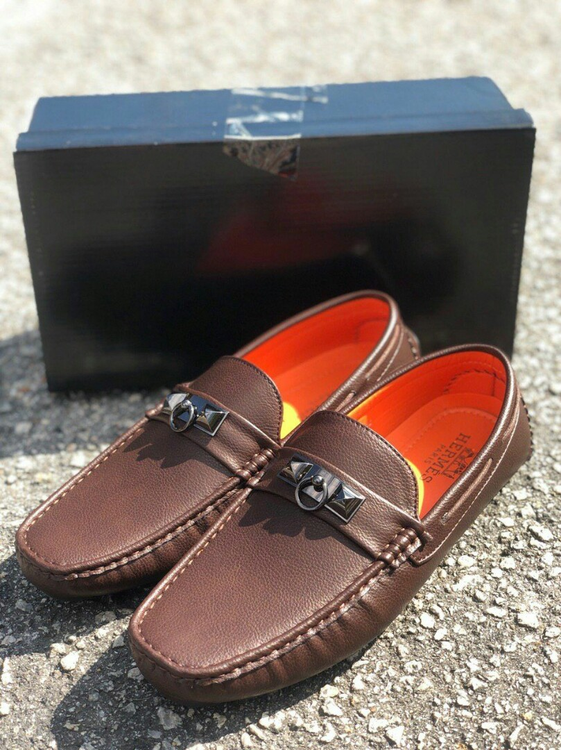 c15769f4f4 🔥LOAFER HERMES IRVING BROWN🔥