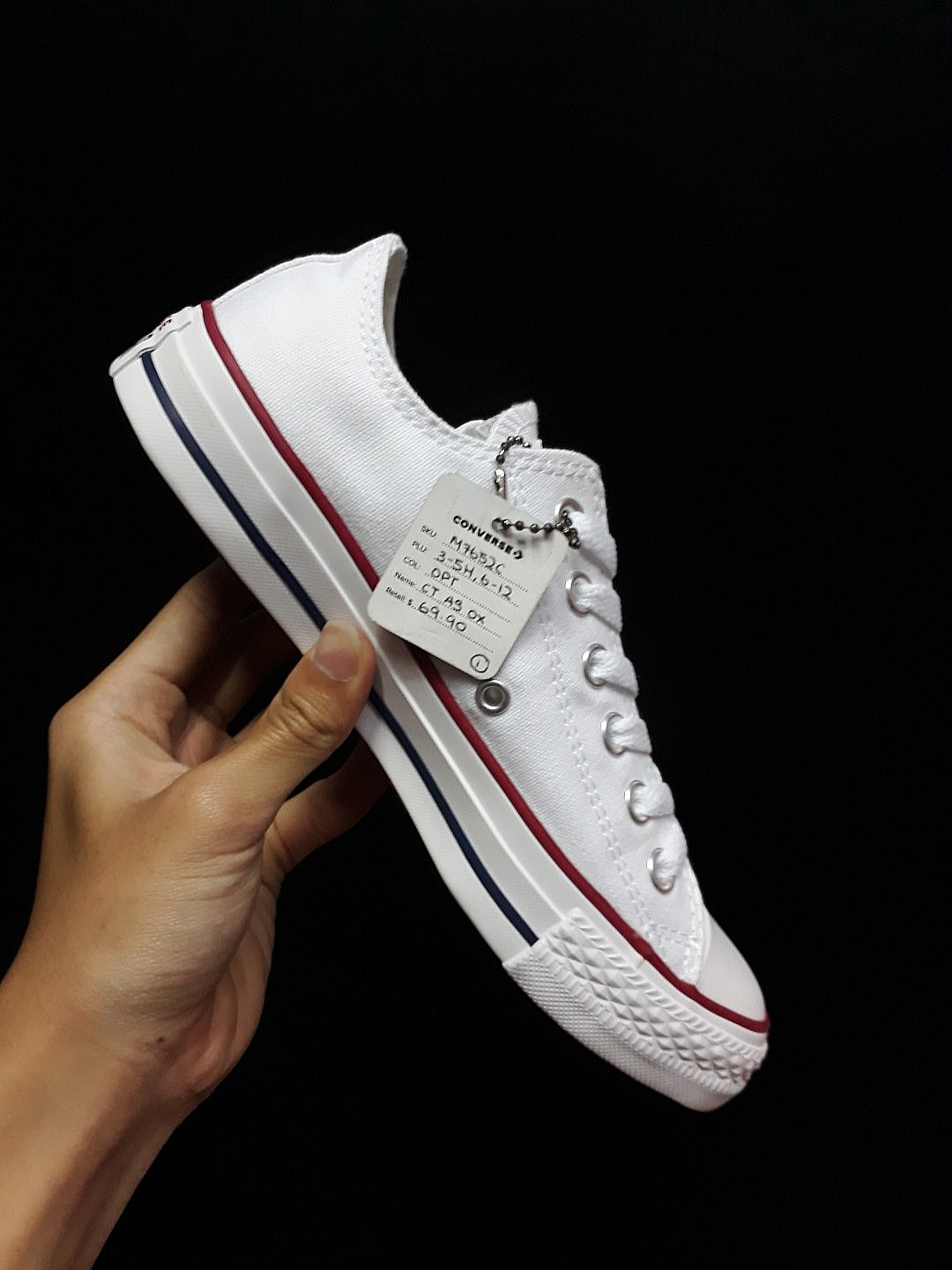 674c1697118f Many Sizes   Converse Classic All Star White