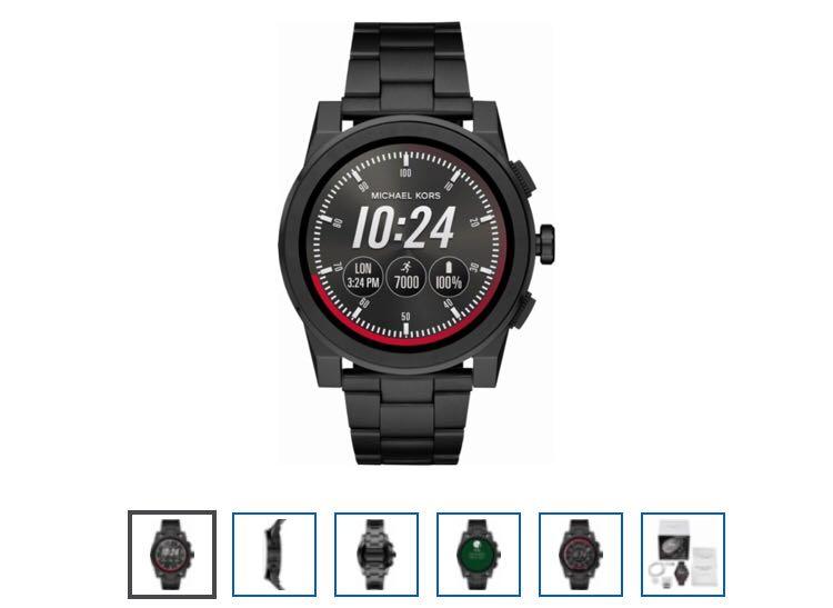 50370a70a606 Michael Kors - Access Grayson Smartwatch 47mm Stainless Steel ...